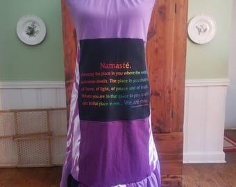 Namaste T-dress Size M