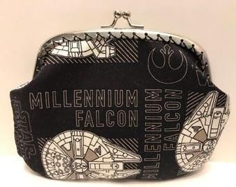 Large Millennium Falcon Coin Purse