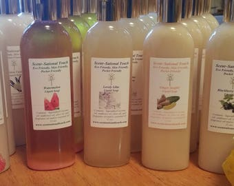 liquid Soap 10 oz. {low suds}