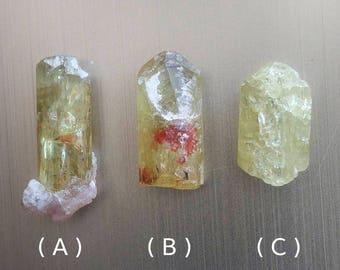 yellow apatite. raw. natural crystal. crystal grid crystals. healing. confidence. solar plexus chakra. lapidary. high vibration crystals
