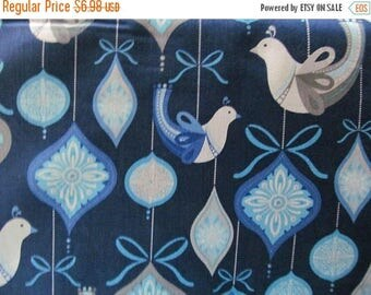 ON SALE O'Tinsel Tree Ornaments Cotton Fabric by Robert Kaufman By the Yard #833