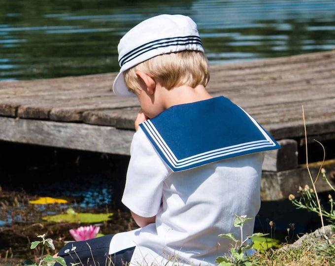 Sailor Suit FERDINAND - Summer - Navy Suit - Traje de marinero - Traditional boys suit