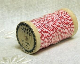 Moda Home - Red White Bakers Twine - 100 Yard Spool