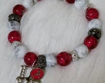Alabama fan bracelet
