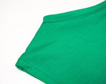 sleeveless comfortable tshirt in organic cotton