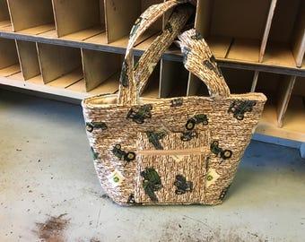 John Deere road Handbag