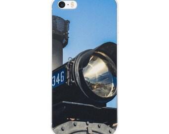 iPhone 5/5s/Se, 6/6s, 6/6s Plus Case - Red Silo Original Art - Engine 346