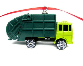 Garbage Truck Christmas Tree Ornament