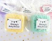 Gender Neutral Baby Shower Favors Bunting Baby Shower Favor Summer Favor Cute Soap Favors Personalized Shower Favor Bunting Party Favors