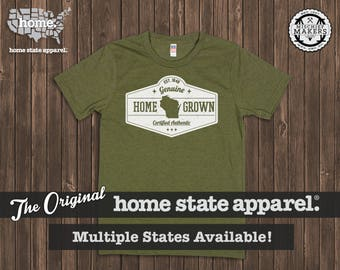 Homegrown T Shirt: Men's / Unisex - Army Green