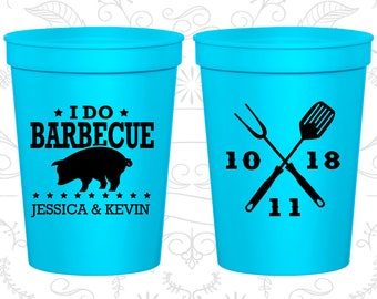 Neon Blue Stadium Cups, Neon Blue Cups, Neon Blue Party Cups, Neon Wedding Cups (73)
