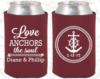 Crimson Red Wedding, Crimson Red Can Coolers, Crimson Red Wedding Favors, Crimson Red Wedding Gift, Crimson Red Wedding Decorations (05)