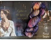 Hand Dyed Yarn - An Ode to Musical Theatre - The Phantom of the Opera - 80/20 Superwash Merino/Nylon