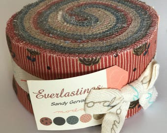 EVERLASTINGS Jelly Roll Fabric by Sandy Gervais for Moda