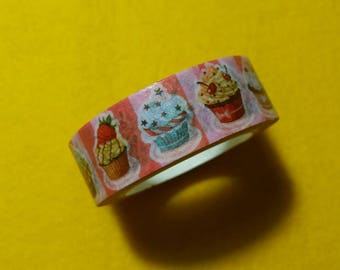 Cupcake Washi Tape Roll