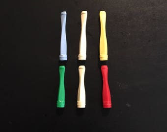 Vintage and Colorful 1950s Novelty Cigarette Holders (E3)