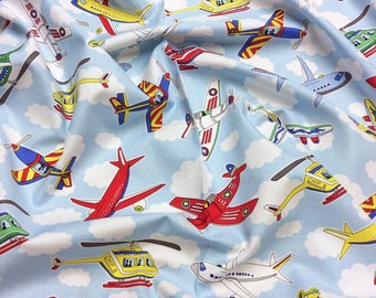 Junior Pilots 60425 for Exclusively Quilters Patchwork Quilting Dressmaking Fabric