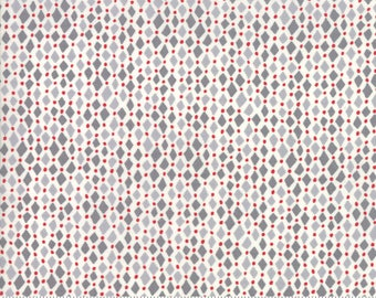 Merry Merry - Diamonds Frost by Kate Spain for Moda, 1/2 yard, 27278 14