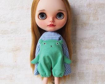 Blythe dress/ OBAKE dress04/cotton/by T-kuma66