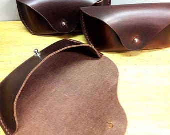 Handmade Leather Sunglass / Eyeglass Case