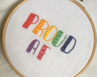 Pride Embroidery Patch