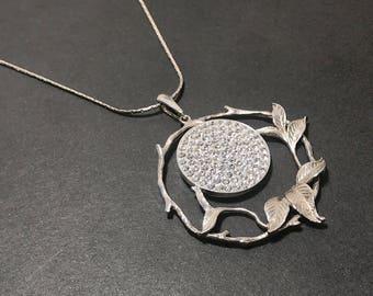 Summer flowers - silver 925 pendant