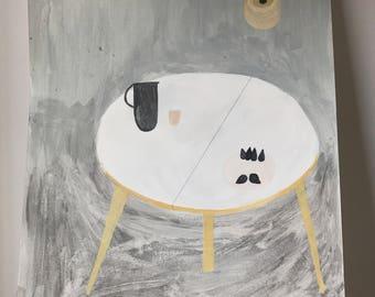 table (I) . original illustration