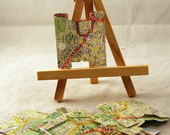 Map,tab, junk journal