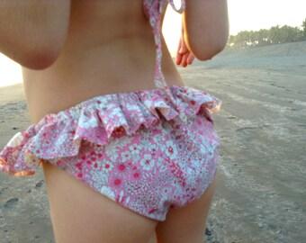 "Swimsuit ruffle 2 piece ""Monterico"""