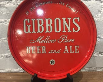 Gibbons Beer Tray