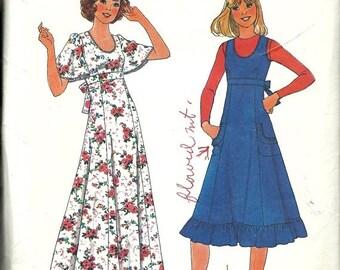25% OFF Simplicity 8026  Misses Dress or Jumper  Size 8   C1977