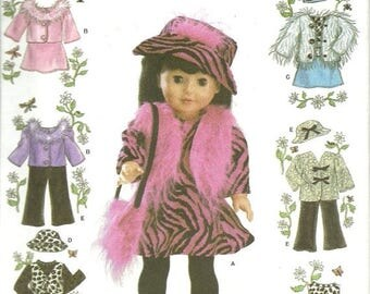 "25% OFF Simplicity4416   Clothes for an 18"" doll   uncut"
