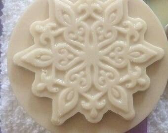 Snowflake Goat's Milk & Shea Butter Soap