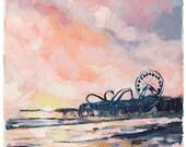 Ocean City, 8.5x11 Signed...