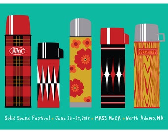 2017 Solid Sound Music Festival poster