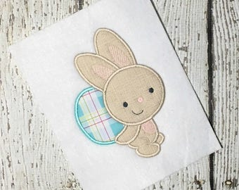 Easter Applique - Bunny Applique - Rabbit Applique -Easter Embroidery