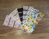 WS23   Pre-Cut Washi Samples (for Erin Condren)    Planner Stickers