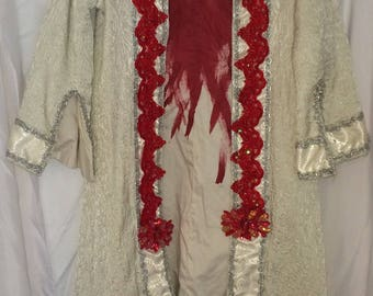 White Bloody Robe Theatrical Costume