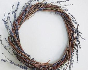 Lavender & Twig Wreath