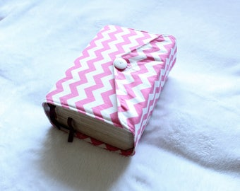 Regular Quad Scripture Cover with Flap - any chevron color or any pattern you want!