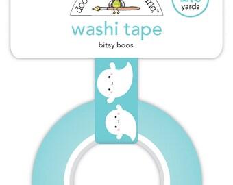 Bitsy boos Doodlebug Design - Washi Tape/ Ghost washi tape/Halloween/ Planners / Calendars/ Scrapbooking