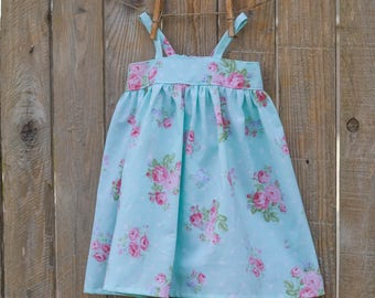Baby Dress - Toddler Dress - Baby Sundress - Toddler Sundress - Toddler Girl Clothes - Girls Simple Dress - Custom Girls Dress - Girls Dress
