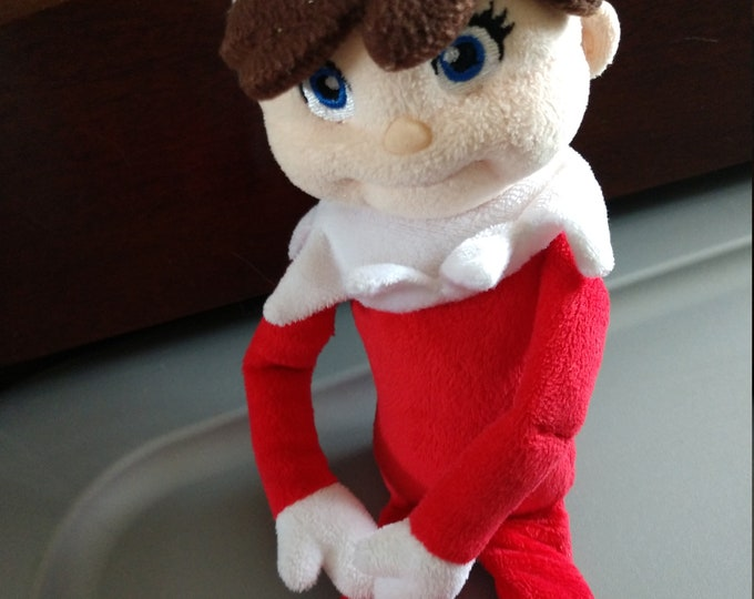 12 inch Plush Elf on the Shelf Plushee Pal Doll