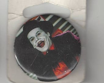 Batman Joker Jack Nicholson Orange Shirt Pinback Button