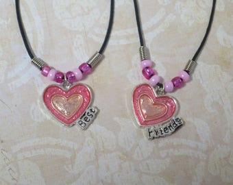 Hearts Best Friend necklaces. CCS91