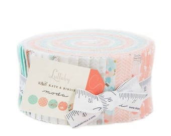 Anniversary Sale Lullaby Jelly Roll 40 2.5-inch Strips Moda Fabrics~Fast Shipping,JR369