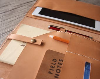 A5 Leather Portfolio / 10.5 iPad Pro Case Corporate Gifts, Business Gifts, Corporate Gifts ideas, Employee Gift Conference