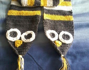 childs owl  scarf