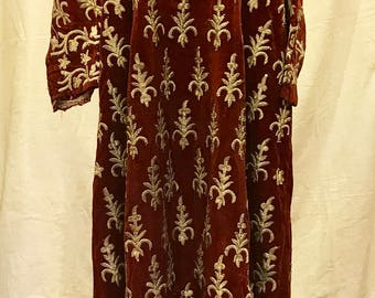 Vintage handmade Turkish ottoman dress ethnic clothing