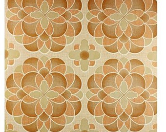 1970s 60s Original Space in Time - GEOMETRIC Mid Century Mod Wallpaper